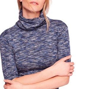 Free people space dyed turtleneck